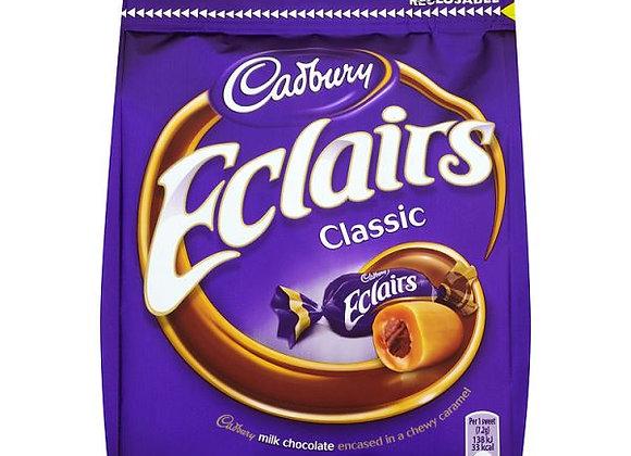 Cadbury Eclairs Chocolate Bag Large 166g