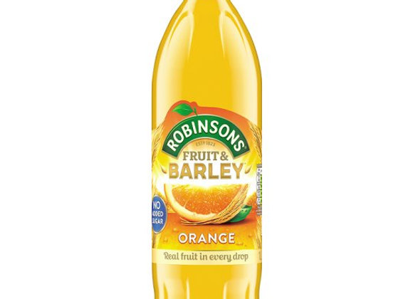 Robinsons Fruit And Barley Orange 1L