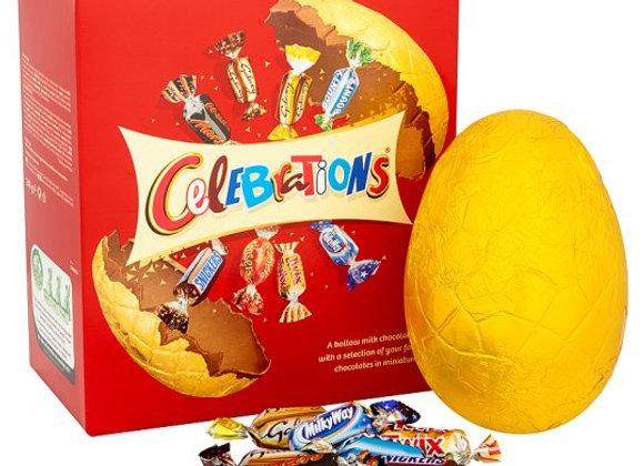 Celebrations Large Milk Chocolate Easter Egg & Chocolates 248G