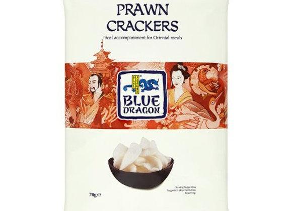 Blue Dragon Prawn Crackers 70g