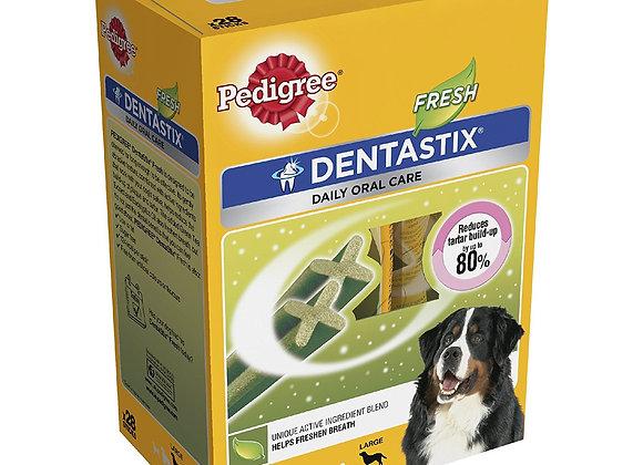 Pedigree Dentastix Fresh Large Dog Dental Chews, 28 Sticks
