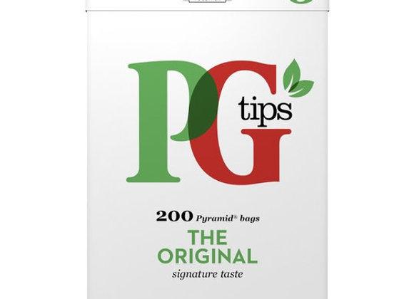 Pg Tips 200 Original Pyramid Tea Bags 580G