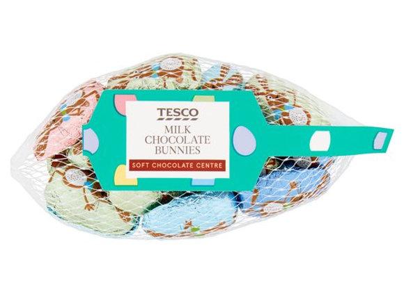 Tesco Milk Chocolate Bunnies Net 85G