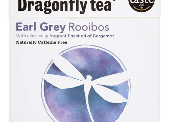 Dragonfly Earl Grey Rooibos 40 Tea Bags 100G