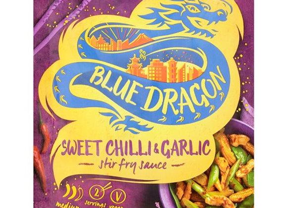 Blue Dragon Sweet Chilli And Garlic Stir Fry Sauce 120G
