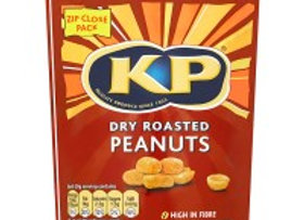 Bulk Buy KP Dry Roasted Peanuts 1kg