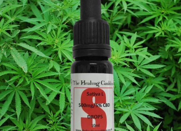 500mg/5%  Sativa L. Full Plant CBD Oil