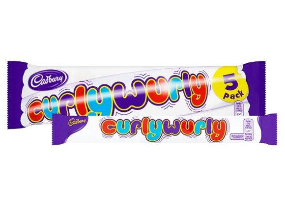 Cadbury Curly Wurly 5 Pack 130G