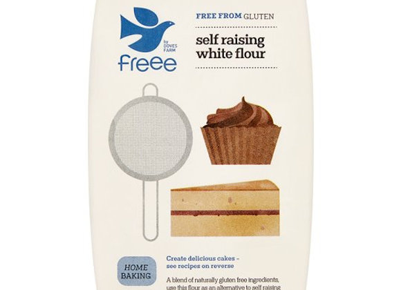 Doves Farm Gluten & Wheat Free White Self Raising Flour Blend 1Kg