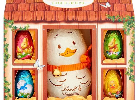 Lindt Chick House Novelty Easter Gift 140G