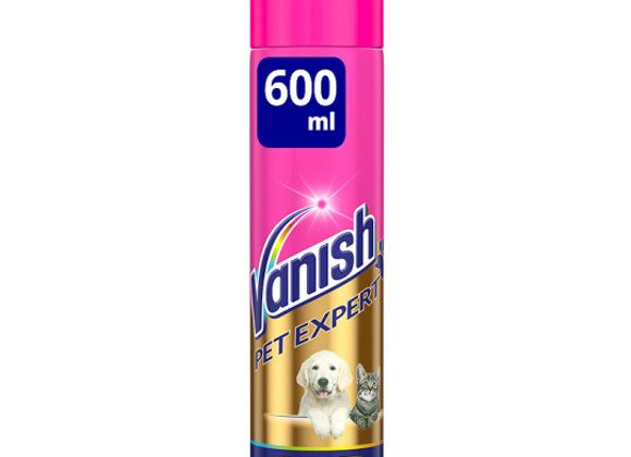 Vanish Pet Expert Carpet Care Foam 600Ml