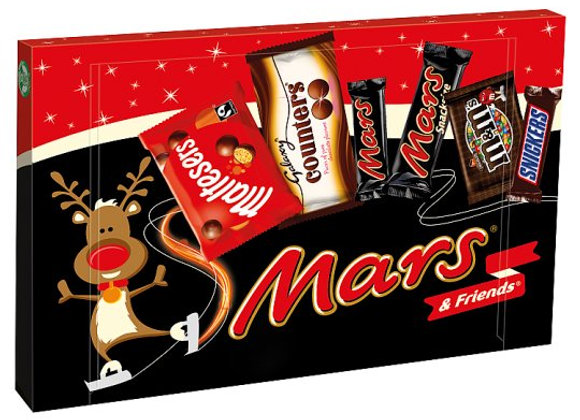 Mars And Friends Medium Selection Box 144.3G