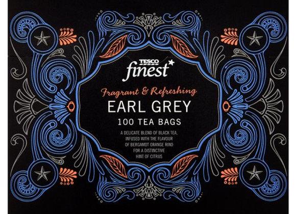 Tesco Finest Earl Grey 100 Teabags 250G