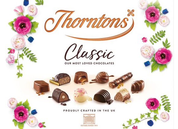 Thorntons Classic Chocolate Collection Box 449G