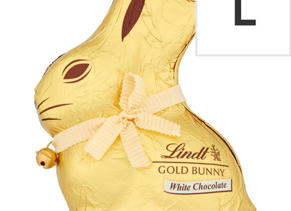 Lindt Gold Bunny White Chocolate 200G