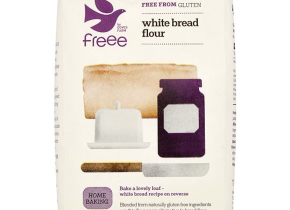 Doves Farm Gluten & Wheat Free White Bread Flour 1Kg