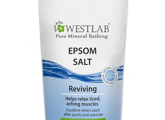 Westlab Epsom Salt Resealable Stand Up Pouch, 1 kg