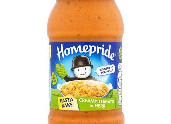 Homepride Pasta Bake Creamy Tomato And Herb 500G