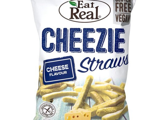Eat Real Cheezie Straws Gluten Free Vegan 113G