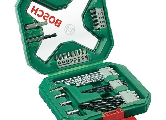 Bosch 2607010608 X-Line Classic Drill and Screwdriver Bit Set, 34 Pieces [Energy