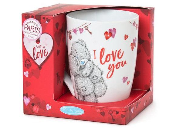 Me to You I Love You White Mug
