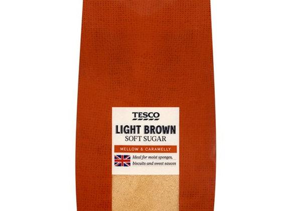 Tesco Light Brown Soft Sugar (1kg and 500g packs)