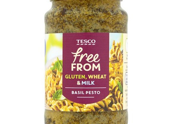 Tesco Free From Basil Pesto 190G