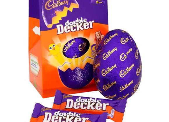 Cadbury Double Decker Large Easter Egg 287G
