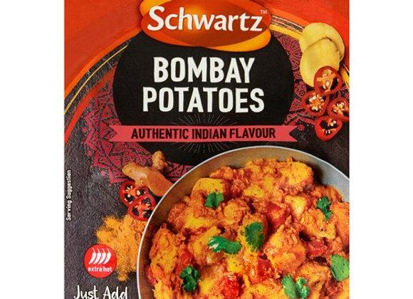 Schwartz Authentic Bombay Potatos 33G