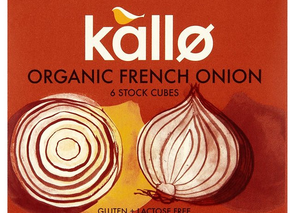 Kallo Organic French Onion Stock Cubes 6 x 11g