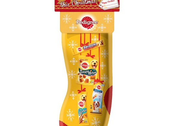 Pedigree Pet Dog Food Christmas Gifts Treats Stocking 377G