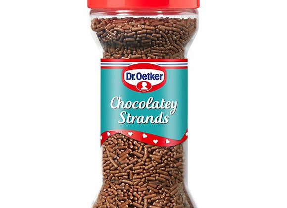 Dr. Oetker Chocolatey Strands 55g