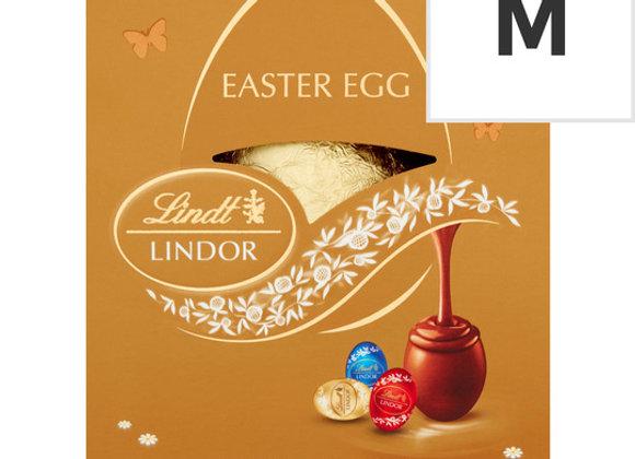 Lindt Lindor Gold Chocolate Egg & Mini Eggs 140G