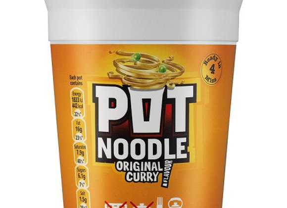 Pot Noodle Curry 90g