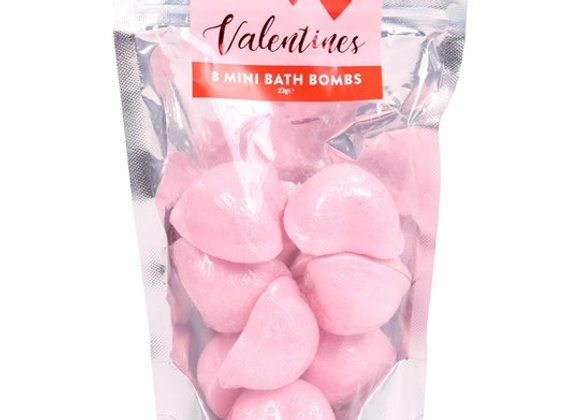 Mini Heart Bath Bombs