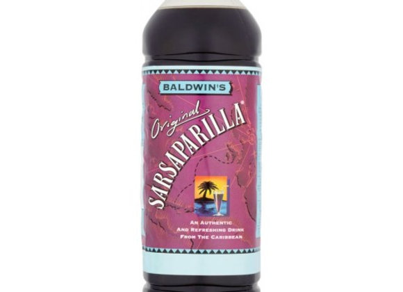 Baldwins Sarsaparilla 1L (Sugar levy applied)