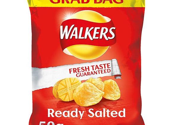 Bulk Buy Walkers Ready Salted Crisps 32 bags