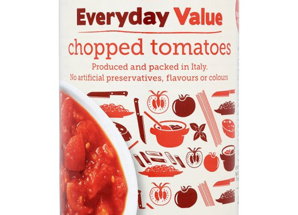 Tesco Everyday Value Chopped Tomatoes 400G