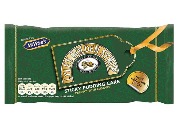 Mcvitie's Original Lyle's Golden Syrup Cake