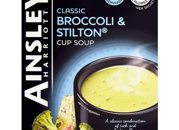 Ainsley Harriott Broccoli And Stilton Soup 3 Pack 72G