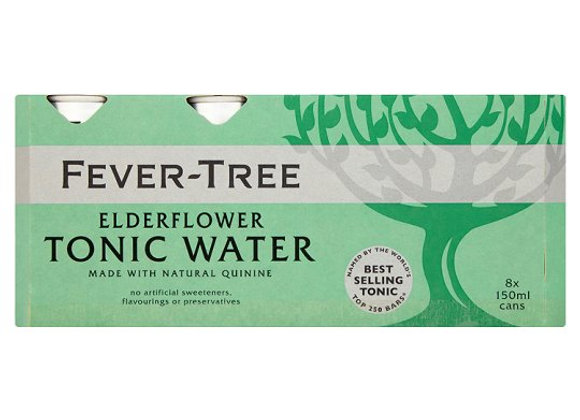 Fever-Tree Tonic Elderflower 8X150ml Can