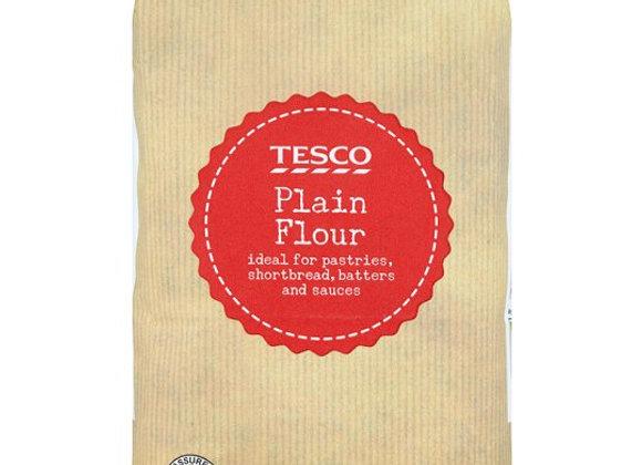 Tesco Plain Flour 1.5Kg