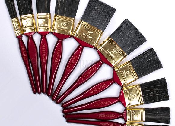 10 Pc Paint Brush Set