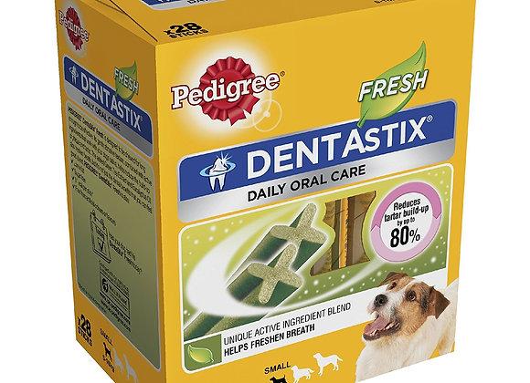 Pedigree Dentastix Fresh Small Dog Dental Chews, 28 Stick
