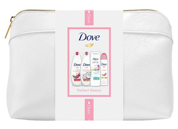 Dove Radiant Beauty Wash Bag Gift Set