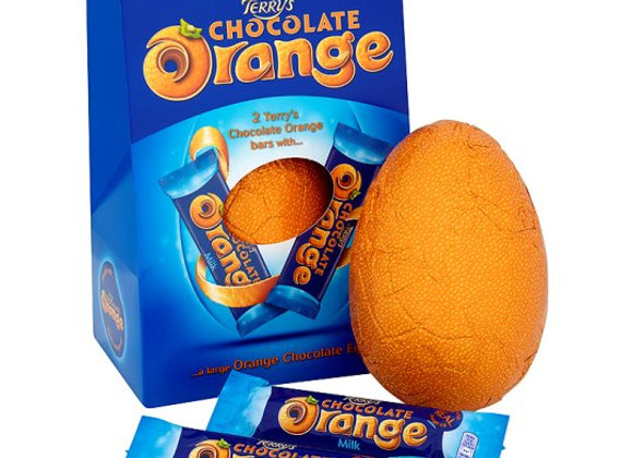 Terry's Chocolate Orange Large Hollow Easter Egg 266G