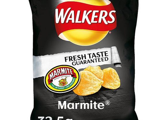 Bulk Buy Walkers Marmite Crisps x 32 bags