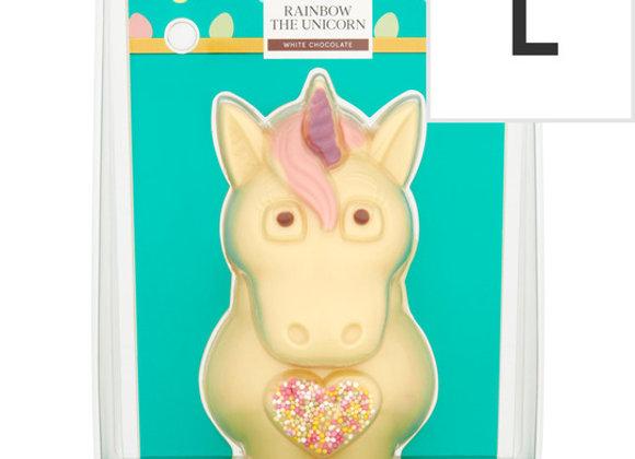 Tesco Easter Rainbow The Unicorn Chocolate Figure 200G