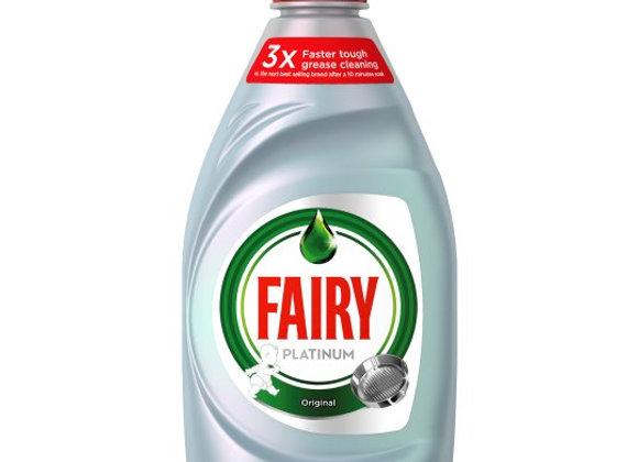 Fairy Platinum Washing Up Liquid 383ml