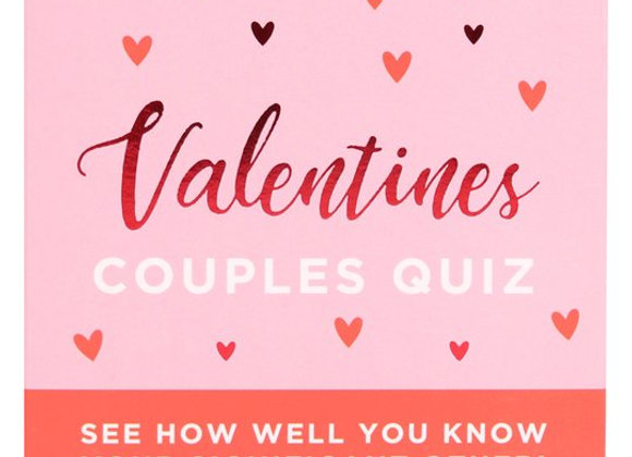 Couples Quiz 50 cards
